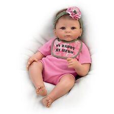 My Daddy, My Hero Ashton Drake Doll by Tasha Edenholm 17 inches