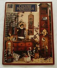 Maxine Thomas Country Primitives #6 Booklet Magazine Painting Pattern Book 1998