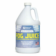 Essential Values Dj's Party Fog Juice 128 FL Oz / 1 Gallon Produces Long Lasting