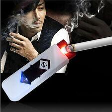 Enduring USB Electronic Rechargeable Flameless Cigar Cigarette Lighter Gadget ZN