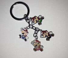 Super Mario Brothers Bros Nintendo Game Keychain Key Ring Charms