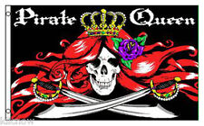 PIRATE QUEEN FLAG 5FT X 3FT