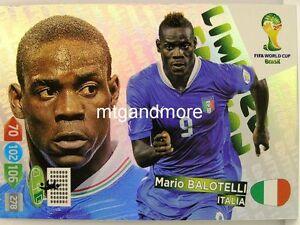 Adrenalyn XL - Mario Balotelli - Limited Edition - Fifa World Cup Brazil 2014 WM