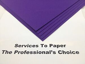Cadbury Purple Acid Free Extra Thick Card A4 300gsm 20 Sheets  ** New Stock **