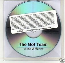 (A96) The Go! Team, Wrath Of Marcie - DJ CD