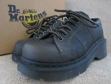 DR MARTENS Melissa Greenland Black Leather Ankle Boots Shoes US 11 M EUR 44 NWB