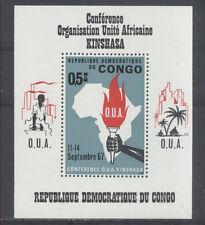 ORGANISATION UNITE AFRICAINE Congo Belge bloc de 1967 **