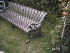 PANCHINA DA GIARDINO IN GHISA - CAST IRON BENCHES