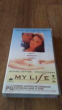 MY LIFE MICHAEL KEATON NICOLE KIDMAN - VHS PAL VIDEO