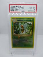 2016 POKEMON EVOLUTIONS REVERSE FOIL  BEEDRILL # 7 PSA 8 RARE HOT ITEM
