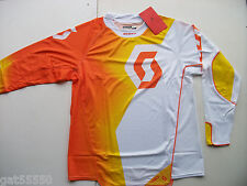 SCOTT 450 Sz XXL MOTOCROSS MTB DH ENDURO SHIRT JERSEY ORANGE YELLOW RM RMZ XCF