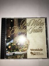 Vintage BEST WISHES THIS HOLIDAY SEASON CD Westdale Better Homes And Garden RARE