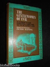 SIGNED; PETER HAINING - The Gentlewomen of Evil - Supernatural Stories, 1967-1st