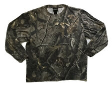 Realtree Hardwoods Winchester Sz L Women's Camo Hunting Shirt Long Sleeve