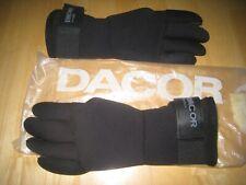 DACOR V-Lock gauntlet extended 5mm dive gloves size S