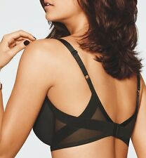 NEW Wacoal 853281 Ultimate Side Smoother Contour Bra 36DD BLACK