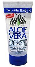 Fruit of the Earth Aloe Vera 100% Gel 6 oz (Pack of 4)