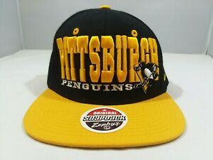 Pittsburgh Penguins Zephyr Original Snapback Hat
