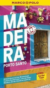 MARCO POLO Reiseführer Madeira, Porto Santo 16. Auflage 2020 (Taschenbuch)
