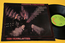 TEN YEARS AFTER LP POSITIVE VIBRATIONS 1°ST ORIG ITALY 1974 NM ! TEXTURED COVER