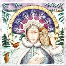 Wendy Andrew Pagan Card Yule Christmas Wicca Solstice Stillness Peace on Earth