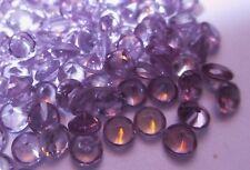 1 synthetische Steine 5,0 mm Amethist-hell #62 Corundum, Mohshärte 9,0Simulant