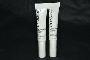 2x Ulta Beauty Lip Plumping Primer - Clear full size Sealed