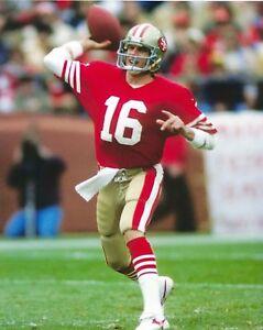 JOE MONTANA 8X10 PHOTO SAN FRANCISCO 49ers PICTURE NFL FOOTBALL