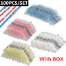 50/100PCS Set Solder Sleeve Seal Heat Shrink Electrical Wire Terminal Connector