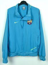 FC Barcelona 2010 Fußball Herren S Trainingsanzug Jacke Nike Training Zip Blau