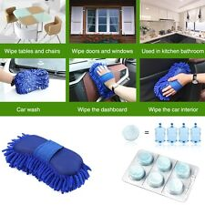 NUOVI accessori AUTO PULIZIA SPUGNA SPAZZOLA Guanti + concentrato lavaggio Tablet