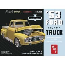 AMT 1/25 1953 Ford Pickup truck 3 in 1 Stock - Custom - Service #882 Plastic Kit