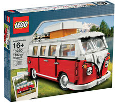 LEGO Exclusiv 10220 VW Bulli T1 Volkswagen Bus Campingwagen Camper samba t2 t3