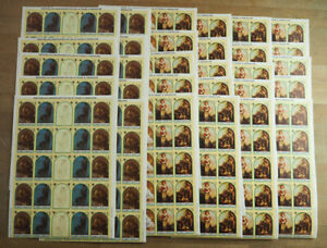 1981 SaoTome; 200 Serien Kinder (Bögen gefaltet), MiNr. 722/8, **/MNH, ME 5200,-
