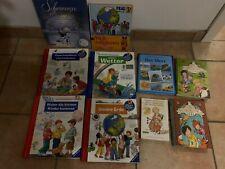 Konvolut Kinderbücher 4 x Wieso Weshalb Warum & weitere Bücher