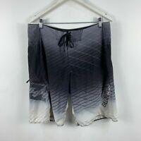 Billabong Mens Board Shorts Size 36 Multicoloured Geometric Drawstring