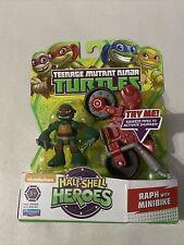 Half Shell Heroes Raph with Minibike Teenage Mutant Ninja Turtles RARE