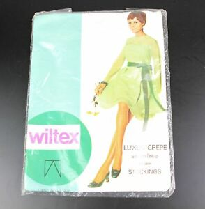 Vintage WILTEX Seamfree STOCKINGS Inka 9.5-10 179
