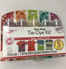 Tulip One-Step Tie-Dye Kit • Dyes Up To 30 Projects! •Includes 5 Refill Packets•
