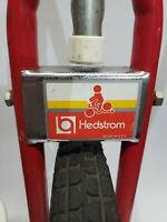 "Vintage Hedstrom Unicycle, Troxel seat 16"" hard wheel w/ training Pole 🇺🇸 RETA"