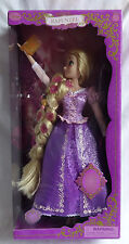 "Disney Store Rapunzel Deluxe Feature 16"" Doll Tangled Singing Lights Up Sings"