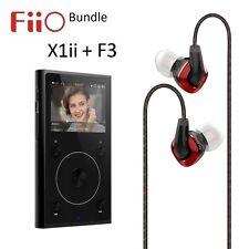 FiiO x1ii 2nd generazione lossless (FLAC/WAV) Lettore Musicale + f3 IEM cuffie Bundle