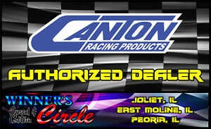 Canton 11-190 Circle Track Wet Sump Oil Pan 8qt Small Block Chevy