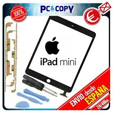 PANTALLA TACTIL PARA IPAD MINI NEGRO TOUCH SCREEN + ADHESIVO Y HERRAMIENTAS