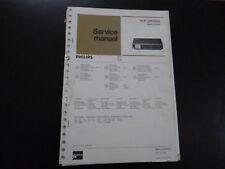 Original Service Manual  Philips 22RH690