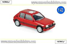 Peugeot 205 GTi 1986 - Vallelunga Red Jet-Car NOREV - NO 471713 - Echelle 1/43