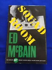 SQUAD ROOM - FIRST EDITION SIGNED BY ED MCBAIN