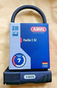 ABUS Padlock Facilo 32 Bike Lock Double Locking Security Level 7