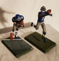 New York Giants 3 Inch McFarlane Figure Lot - NFL Football Collector's
