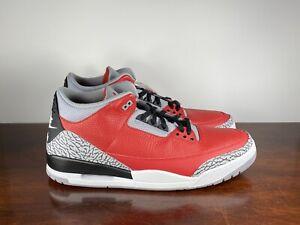 Men's Nike Air Jordan 3 Retro SE Unite CHI Exclusive Cement CU2277-600 Size 18
